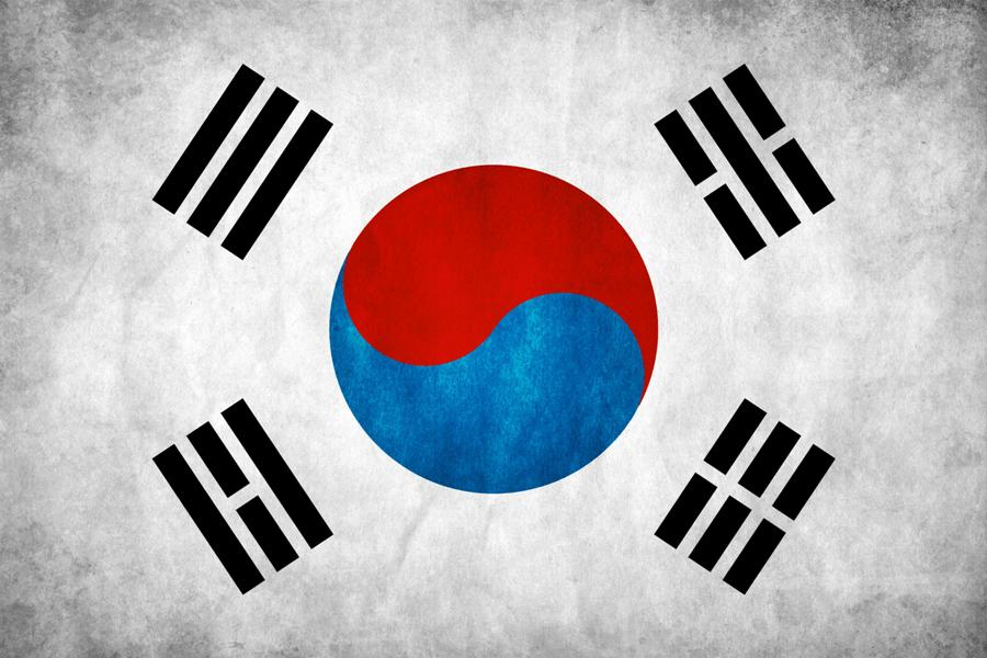 South Korea Flag (credit think0.deviantart.com)