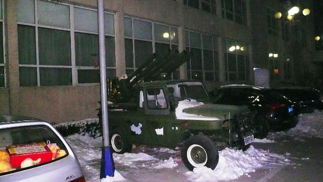 Military - stuck in beijing