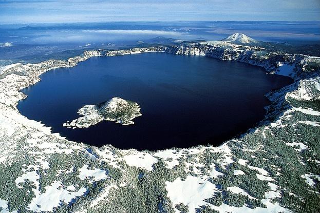 Crater Lake Aerial