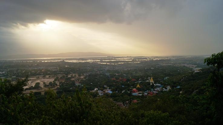Sunset Mandalay Hill