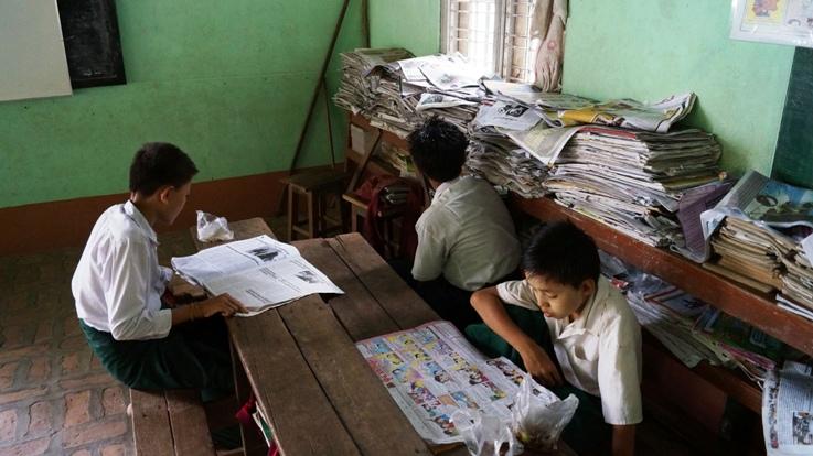 Mahar Gandar Yone Monastary School
