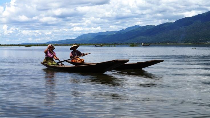 Inle Lake boats