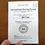 International Driving Permit IDP 6