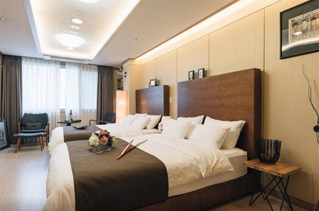 Actual Airbnb in Seoul