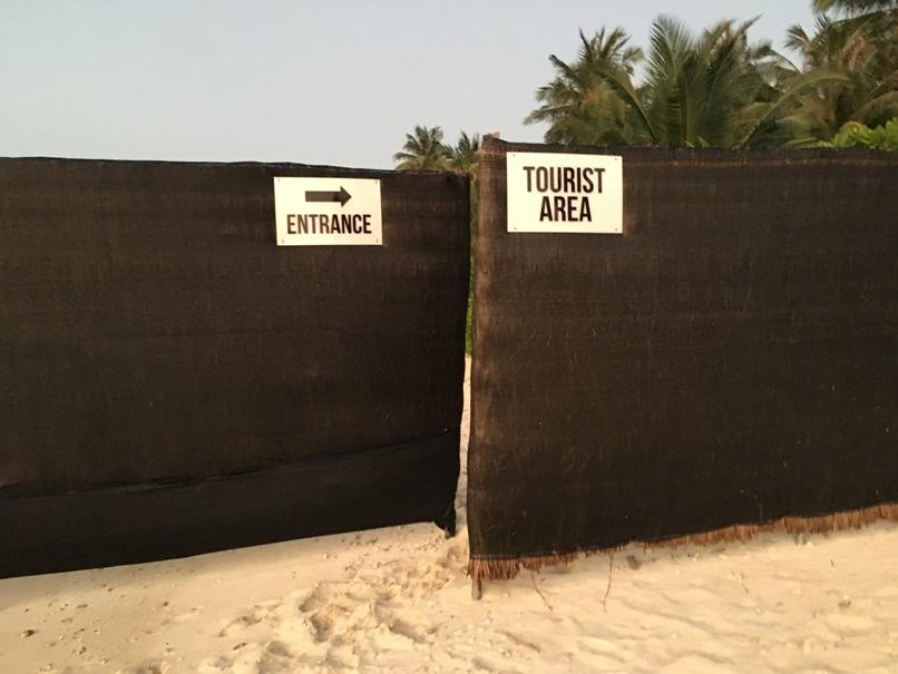 Bikini Beach Entrance